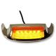 Front Amber LED Fender Tip Housing w/Smoke Lens - GEN-FT-AS