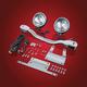 Elliptical Driving Light Kit - 61-115