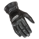 Womens Black Classic Leather Gloves