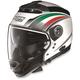 White N44 N-Com Italy Helmet