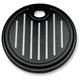 Black Ball-Milled Fuel Door - 908325B