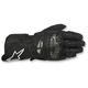 Black/White SP-1 Leather Gloves