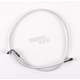 Custom Sterling Chromite II Designer Series 7/16 in. 90 Degree Upper Front Brake Line - 37329