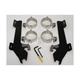 Batwing Black Trigger Lock Hardware - MEM8995