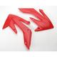 Red Radiator Shrouds - 2043630227