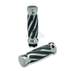 Twisted -Style Custom Rubber Grips - 490010