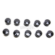 Black 1/4 in. Allen Head Bolt Covers - 2402-0150