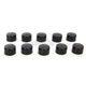 Black 7/16 in. Hex Bolt/Nut Covers - 2402-0159