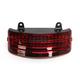 Tri Bar Rear Fender Tip Light w/Red Lens - GEN2-TRI-3-RED