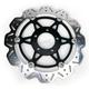 Front Black Vee Brake Rotor - VR3058BLK