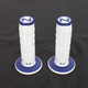 White/Blue Radial Soft/Hard Compound Grips - RD-103