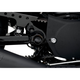 Black Swingarm Pivot Bolt Covers - 1303-0201