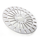 Front 11.8 in. Klassic Polished Stainless Steel Brake Rotor - 1710-2027