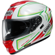 Red/White/Green GT-Air Expanse TC-10 Helmet