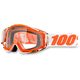 Orange/White Racecraft Mandarnia 2 Goggle w/Clear Lens - 50100-092-02