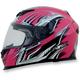 Fuchsia Multi FX120 Helmet