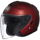 Wine Red J-Cruise Helmet