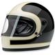 Gloss Black/Vintage White Gringo S Tracker Helmet