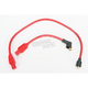 Red 8mm Pro Spark Plug Wires w/180 Degree Boot - 77233