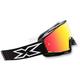 Black/White X-Fade Phantom Goggles - 067-10240