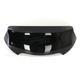 Black Opaque 6.5 in. Spoiler Windshield for OEM Fairings - MEP86011