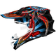 Black/Blue/Red VFX-W Grant 2 TC-1 Helmet