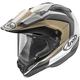 Matte Sand/Black/White XD4 Flare Helmet