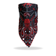 Red Skull Paisley Fleece Lined Neck Warmer - FWC1004