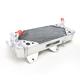 Left X-Braced Aluminum Radiator - MMDBKX450F08LX