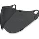 Dark Smoke Fog Free Shield for Icon Variant Helmets - 0130-0375