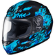 Youth Black/Blue CL-Y Flame Face MC-2 Helmet