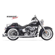 Chrome True Duals w/33 in. Long Fishtail Mufflers - 1S26E-33