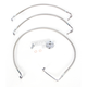 Stainless Steel Brake Line Kit For Use With 12-14 Inch Ape Hangers - LA-8010B13