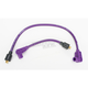 Purple 8mm Pro Spark Plug Wires w/90 Degree Boot - 77331