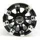 Black 393X Cast Aluminum ATV/UTV Wheel - 0230-0522
