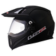 Matte Black MX453 Adventure Helmet
