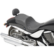 Flame Stitch Low Profile Touring Seat w/Passenger Backrest - 0810-1586