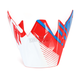 Red/White/Blue Roost SE Visor - 0132-0912
