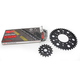 Natural Kawasaki 525 GXW Chain and Sprocket Kit  - 2108-110E