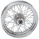 Chrome Rear 16 x 3 40-Spoke Laced Wheel Assembly - 0204-0370