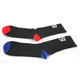 Black Terrain Socks