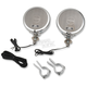 Chrome Rumble Road Limited Non-Amplified Speakers for 1 1/4 in. Handlebars - 219
