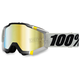 Gray/Black/Yellow Accuri Primer Crystal Goggle w/Mirror Gold Lens - 50210-123-02