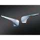 Chrome Tri-Line Fairing Accents for Batwing Fairing - 6903