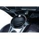 Gloss Black Tri-Line Fuel Door - 6969
