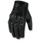 Womens Black Pursuit Touch Gloves