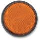 5mm Stud Amber Reflector - RR1A