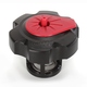 Black w/Red Quick Fill Fuel Cap - QCHR
