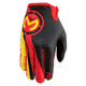 Yellow/Red MX2 Gloves