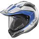 Blue/White/Black XD4 Flare Helmet